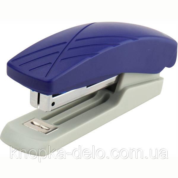 Степлер Axent Duoton 4710-02-A пластиковый, №10, 10 листов, серо-синий