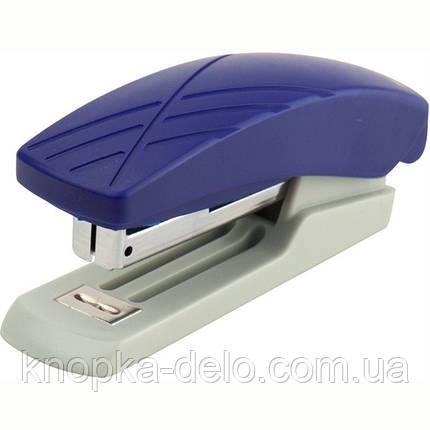 Степлер Axent Duoton 4710-02-A пластиковый, №10, 10 листов, серо-синий, фото 2