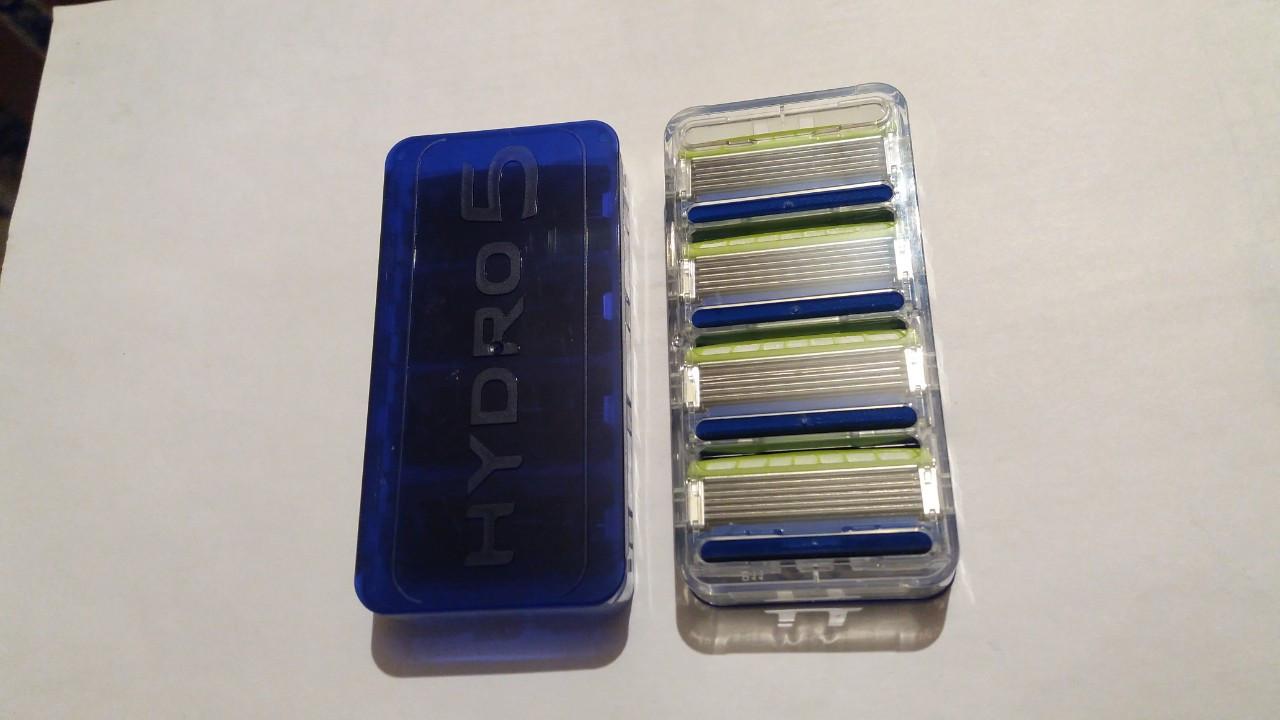 Сменный картридж Schick Hydro 5 (без упаковки, 4 шт.)