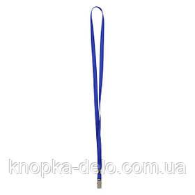 Шнурок для бейджа с металлическим клипом Axent 4532-02-A, синий