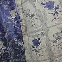 Портьера роза двухсторонняя, фото 1
