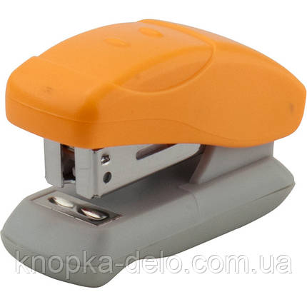 Степлер Axent Welle-2 4814-12-A пластиковый, №24/6, 12 листов, оранжевый, фото 2