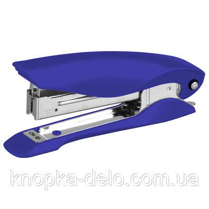 Степлер Axent Ultra 4802-02-A пластиковый, №10, 12 листов, синий, фото 2