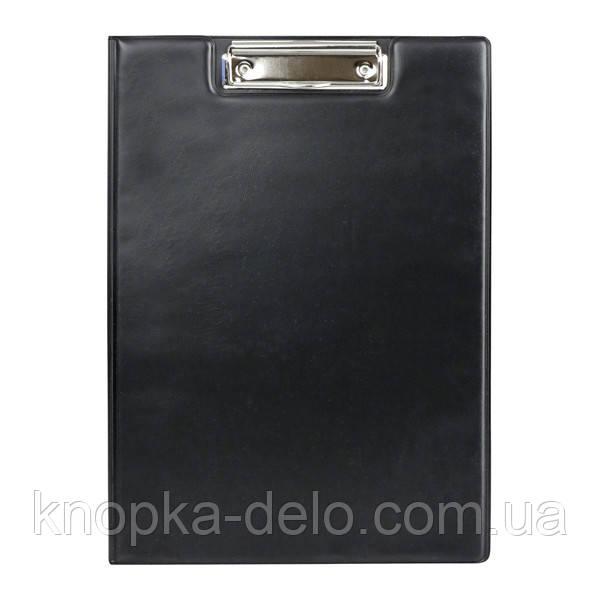 Папка-планшет с металлическим клипом Axent 2513-01-A, А4, черная