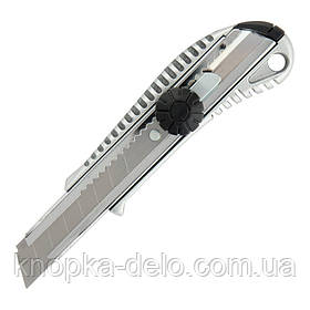 Нож канцелярский металлический (Zn) Axent 6903-A, лезвие 18 мм