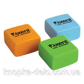 Ластик Axent 1182-A квадратный, ассорти