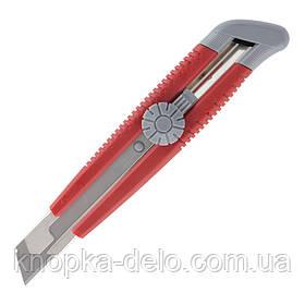 Нож канцелярский Axent 6604-A, металлические направляющие, лезвие 18 мм