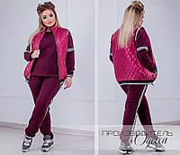 Костюм женский спортивный 3- ка в расцветках  3421, фото 1