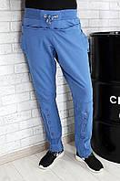 Спортивные штаны женские синие Lico 94083