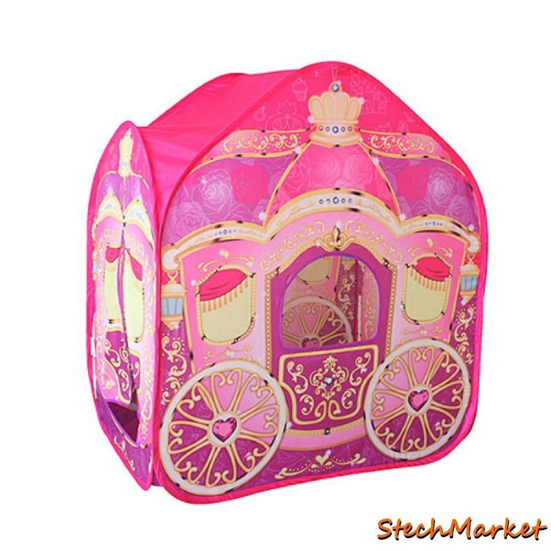 "Детская игровая палатка ""Карета"" размер 95х65х105см"