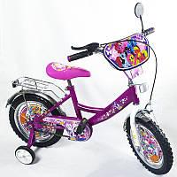Детский двухколесный велосипед Розовый пони 14 дюймов