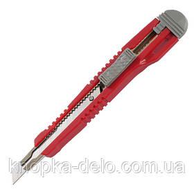 Нож канцелярский Axent 6601-A, с металлическими направляющими, лезвие 9 мм