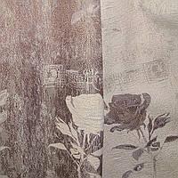Портьера 3D роза двухсторонняя, фото 1