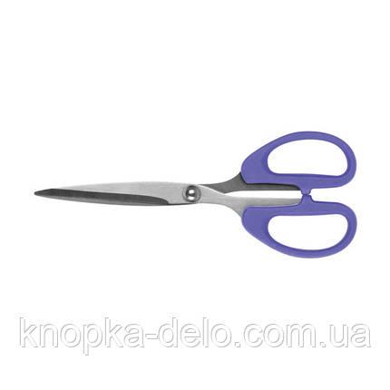 Ножницы Axent Ultra 6211-11-A, 19 см, пластиковые ручки, фиолетовые, фото 2