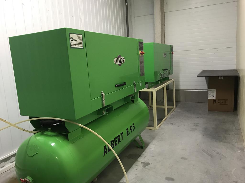 Сервисное обслуживание и ремонт винтовых компрессоров Atmos