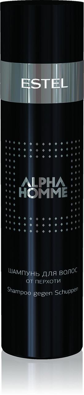 Шампунь для волос против перхоти ALPHA HOMME,  250ml