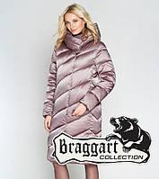 """Зимняя женская куртка-воздуховик Braggart """"Angels Fluff"""", пудрового цвета"""