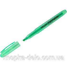 Маркер Delta Highlighter D2504-04, 2-4 мм, клиновидный зеленый