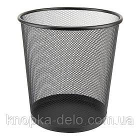 Корзина для бумаги Axent 2119-01-A, 260x280 мм, металлическая сетка, черная