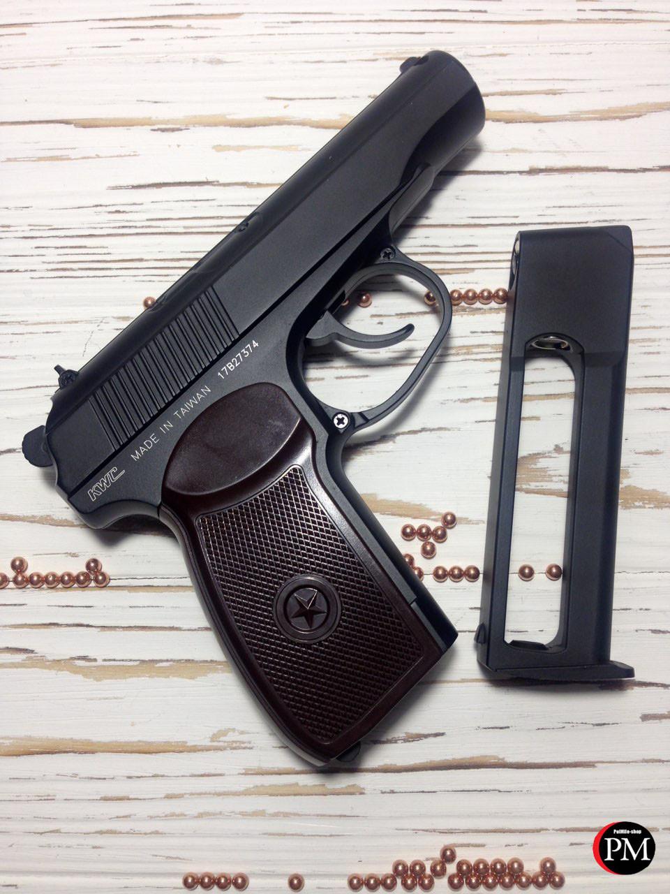 Пневматический пистолет KWC PM KM44