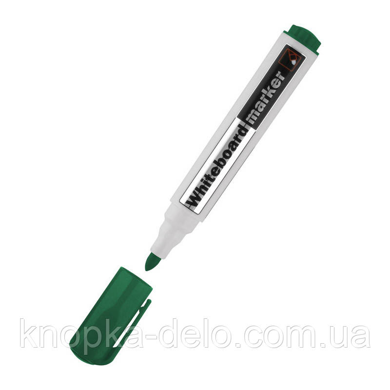 Маркер Delta Whiteboard D2800-04, 2 мм, круглый зеленый