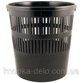 Корзина для бумаги Delta D4007-01, 8 л, черная
