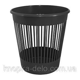 Корзина для бумаги Delta D4018-01, 10 л, черная
