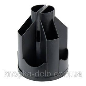 Подставка-органайзер Delta D3003-01, 11 отделений, 103х135 мм, черная