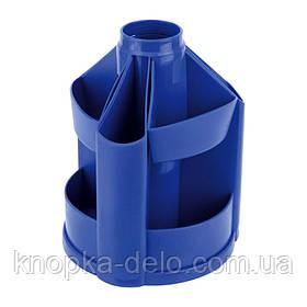Подставка-органайзер Delta D3003-02, 11 отделений, 103х135 мм, синяя