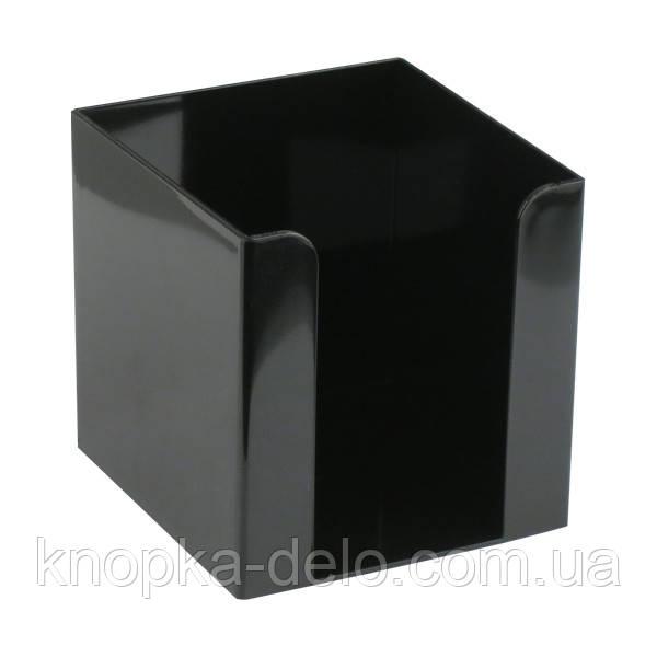 Куб для бумаги Delta D4005-01, 90х90х90 мм, черный
