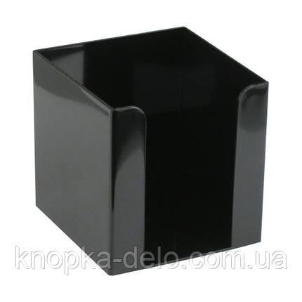 Куб для бумаги Delta D4005-01, 90х90х90 мм, черный, фото 2