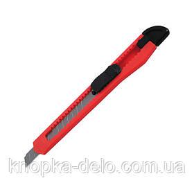 Нож канцелярский Delta D6521-01, лезвие 9 мм, красный