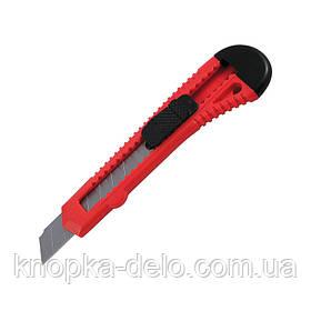 Нож канцелярский Delta D6522-01, лезвие 18 мм, красный