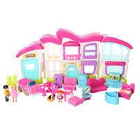 Кукольный дом с мебелью и куклами My Sweet Home
