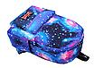 Рюкзак молодежный городской Галактика Космос Синий, фото 2
