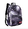 Рюкзак молодежный городской Галактика Космос Серый