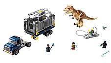 Конструктор Bela 10927 Транспорт для перевозки Ти-Рекса Мир Юрского периода (аналог Lego Jurassic World 75933), фото 2
