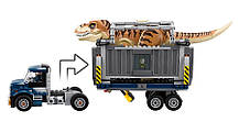 Конструктор Bela 10927 Транспорт для перевозки Ти-Рекса Мир Юрского периода (аналог Lego Jurassic World 75933), фото 3