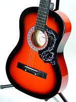 Музыкальный инструмент Классическая Гитара 3/4 - 6 Цветов - Комплект + Ремень, фото 1