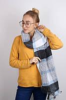 Плотные шарфы Фюжен, голубой