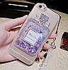 """LG G5 чехол бампер противоударный со стразами блёстками камнями динамический жидкий """"MISS DIOR"""", фото 3"""