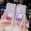 """LG G5 чехол бампер противоударный со стразами блёстками камнями динамический жидкий """"MISS DIOR"""", фото 4"""