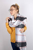 Плотные шарфы Фюжен, пудра