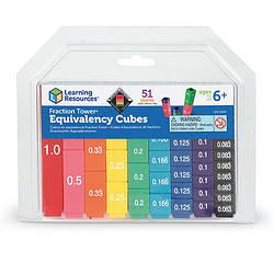 """Дидактичний посібник з математики """"Прості дроби"""" Learning Resources (LER 2509)"""