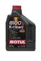 МОТОРНОЕ МАСЛО СИНТЕТИКА Motul 8100 X-clean 5W40 (2л)
