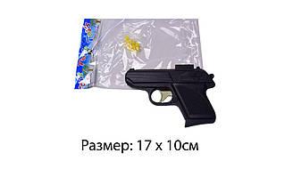 Пістолет 807 (480шт/2) (чорний) з пульками, в пакеті 17*10 см