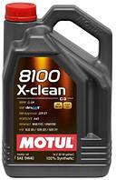 МОТОРНОЕ МАСЛО СИНТЕТИКА Motul 8100 X-clean 5W40 (5л)