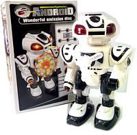 Робот 8808 на батар, свет, звук, 3 вида (Беплый)