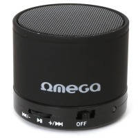 Блютус аудио колонка 1.0 omega bluetooth og47b black