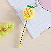 Мягкая плюшевая гелевая ручка ананас, фото 3